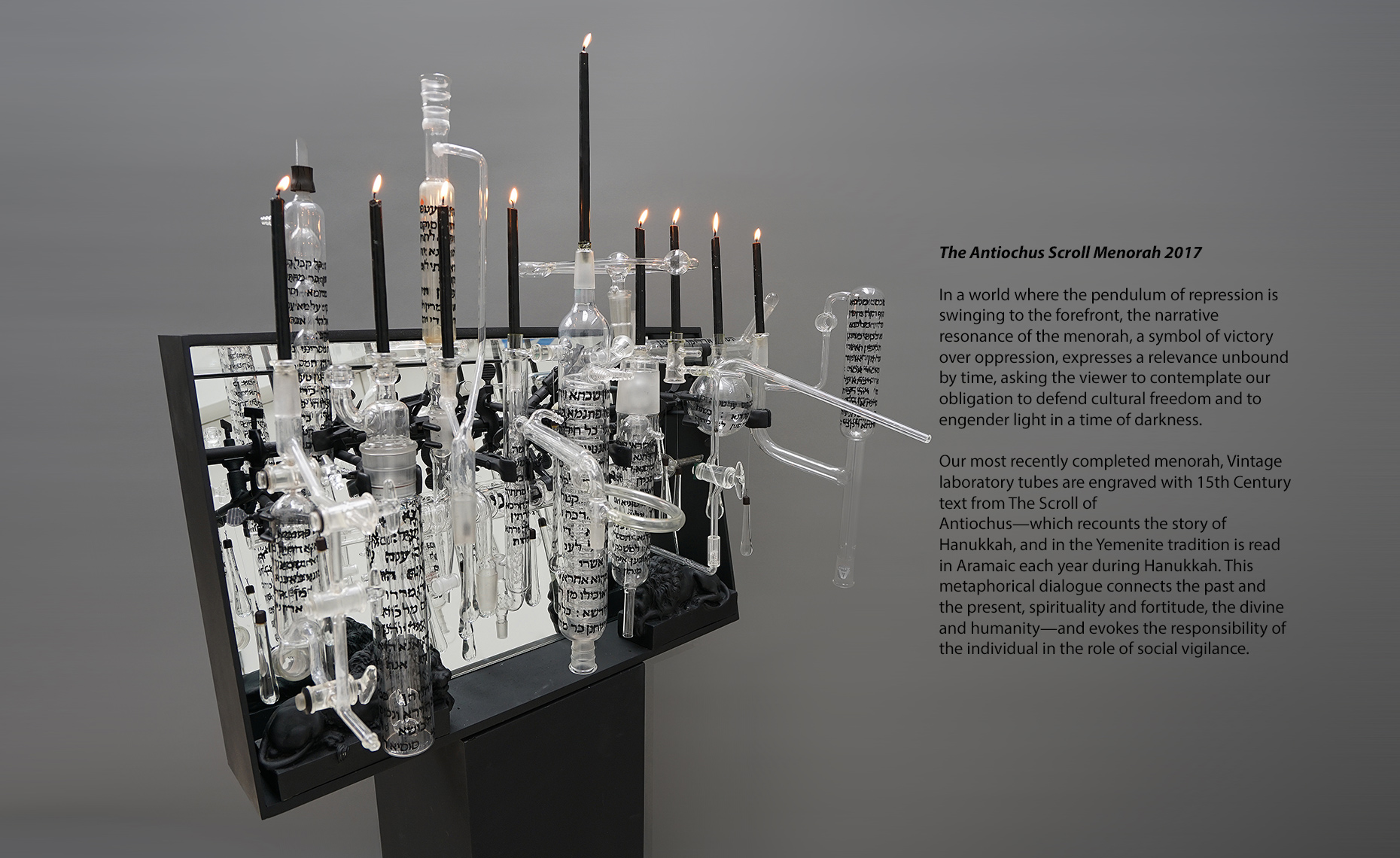 Ghiora Aharoni Design Studio The Menorah Project 6